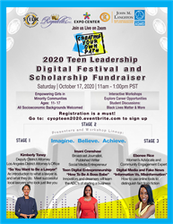 2020 Teen Leadership Digital Festival and Scholarship Fundraiser